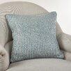 Saro Cassandra Knitted Cotton Throw Pillow