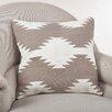 Saro Kilim Cotton Throw Pillow