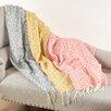 Saro Jacquard Throw Blanket