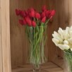 Saro Faux Botanicals Petite Tulip 9-Piece Bunch Flower (Set of 12)