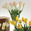 Saro Faux Botanicals Long Stem Tulips (Set of 12)