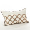 Saro Posh Cotton Lumbar Pillow