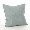 Saro Pomponin Linen Throw Pillow