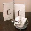 Saro Monogram Towel (Set of 4)