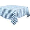 Saro Saro Gingham Design Tablecloth