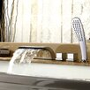 Kokols Single Handle Deck Mount Tub Faucet with Handle Shower