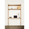 "Nuevo Theo 83"" Accent Shelves Bookcase"