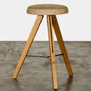 "Nuevo Theo 26.75"" Bar Stool with Cushion"