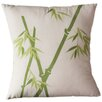Sustainable Threads Bamboo Rayon on Alabaster Cotton Throw Pillow