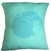 Sustainable Threads Floridian Coast Shell Cotton Throw Pillow