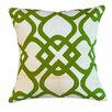 Sustainable Threads Santa Monica Courtyard Cotton Throw Pillow