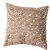 Sustainable Threads Burnt Channels Cotton Throw Pillow