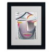 "Trademark Fine Art ""Head (Dark Buddha)"" by Alexej von Jawlensky Matted Framed Painting Print"