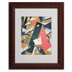 "Trademark Fine Art ""Abstract II"" Matted Framed Painting Print"