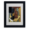 """Trademark Fine Art """"Abstract I"""" Matted Framed Painting Print"""