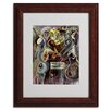 "Trademark Fine Art ""Pearl Jam"" by Ikahl Beckford Matted Framed Painting Print"