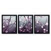 Trademark Fine Art Somewhere over the Rainbow by Beata Czyzowska-Young 3 Piece Framed Photographic Print Set