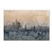 "Trademark Fine Art ""New York Skyline VI"" by Michael Tompsett Graphic Art on Wrapped Canvas"