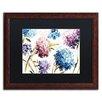 "Trademark Fine Art ""Spring Nectar I - Laurie"" by Lisa Audit Framed Painting Print"