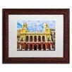 "Trademark Fine Art ""Alcaldia de San Juan"" by CATeyes Framed Photographic Print"