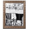 """Trademark Fine Art """"Paris Cafe for 2"""" by Yale Gurney Ornate Framed Photographic Print"""