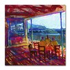 """Trademark Fine Art """"The 60 Minute Meeting"""" by Lowell S.V. Devin Painting Print on Wrapped Canvas"""