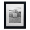 "Trademark Fine Art ""Paris Deux - Louvre"" by Yale Gurney Matted Framed Photographic Print"