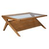 INK+IVY Rocket Coffee Table with Magazine Rack