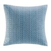 INK+IVY Tait Embroidered Block Throw Pillow