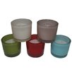 Entrada 5 Piece Glass Candle Holder