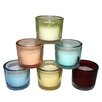 Entrada 6 Piece Glass Candle Holder Set