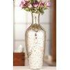 Entrada Silver Tone Vase