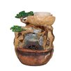 Essential Decor and Beyond Polyresin Water Fountain - Entrada Indoor and Outdoor Fountains