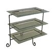 Entrada 3 Tier Rectangular Serving Tray Tiered Stand