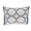 Laura Ashley Home Whitfield Embroidered Geo Boudoir/Breakfast Pillow