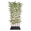 """Laura Ashley Home 96"""" x 14"""" Bamboo Screen in Pot 1 Panel Room Divider"""