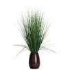 Laura Ashley Home Grass with Twigs in Tapered Ceramic Pot