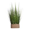 Laura Ashley Home Onion Grass in Rectangular Hemp Rope Container