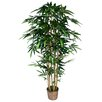 Laura Ashley Home Tall High End Realistic Silk Bamboo Tree in Basket
