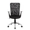 Techni Mobili High-Back Mesh Task Chair with Arms