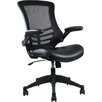 Techni Mobili Mid-Back Mesh Task Chair with Lumbar Support