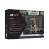 Pet Brands Rac Advanced Fold Flat Crate with Mattress & Bandana