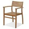 International Home Miami Amazonia Teak Stacking Dining Arm Chair (Set of 2)