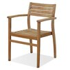 International Home Miami Canberra Stacking Dining Arm Chair (Set of 2)