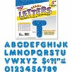 Trend Blue Sparkles Ready Letters (Set of 71)