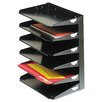 MMF Industries Steelmaster Steelmaster Multi-Tier Horizontal Letter Organizers, Six Tier