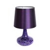 "All the Rages Simple Designs Mosaic Genie 14.17"" H Table Lamp with Empire Shade"