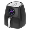 Kalorik Black Digital Airfryer with Dual Layer Rack