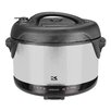 Kalorik 6.5-Quart Black and Stainless Steel Indoor Electric Pressure Cooker and Smoker