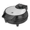 Kalorik Traditional Black and Stainless Steel Belgian Waffle Maker